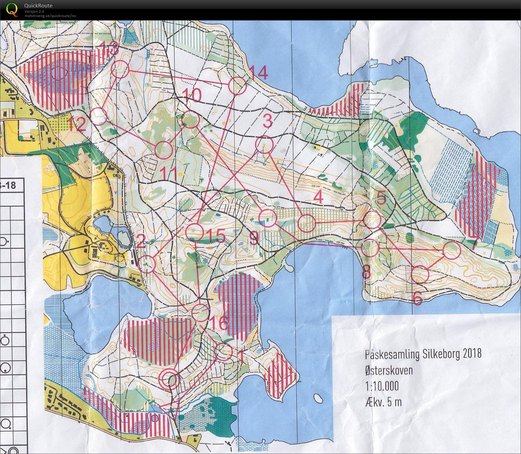 Påskesamling Silkeborg #1 - March 26th 2018 - Orienteering Map from ...
