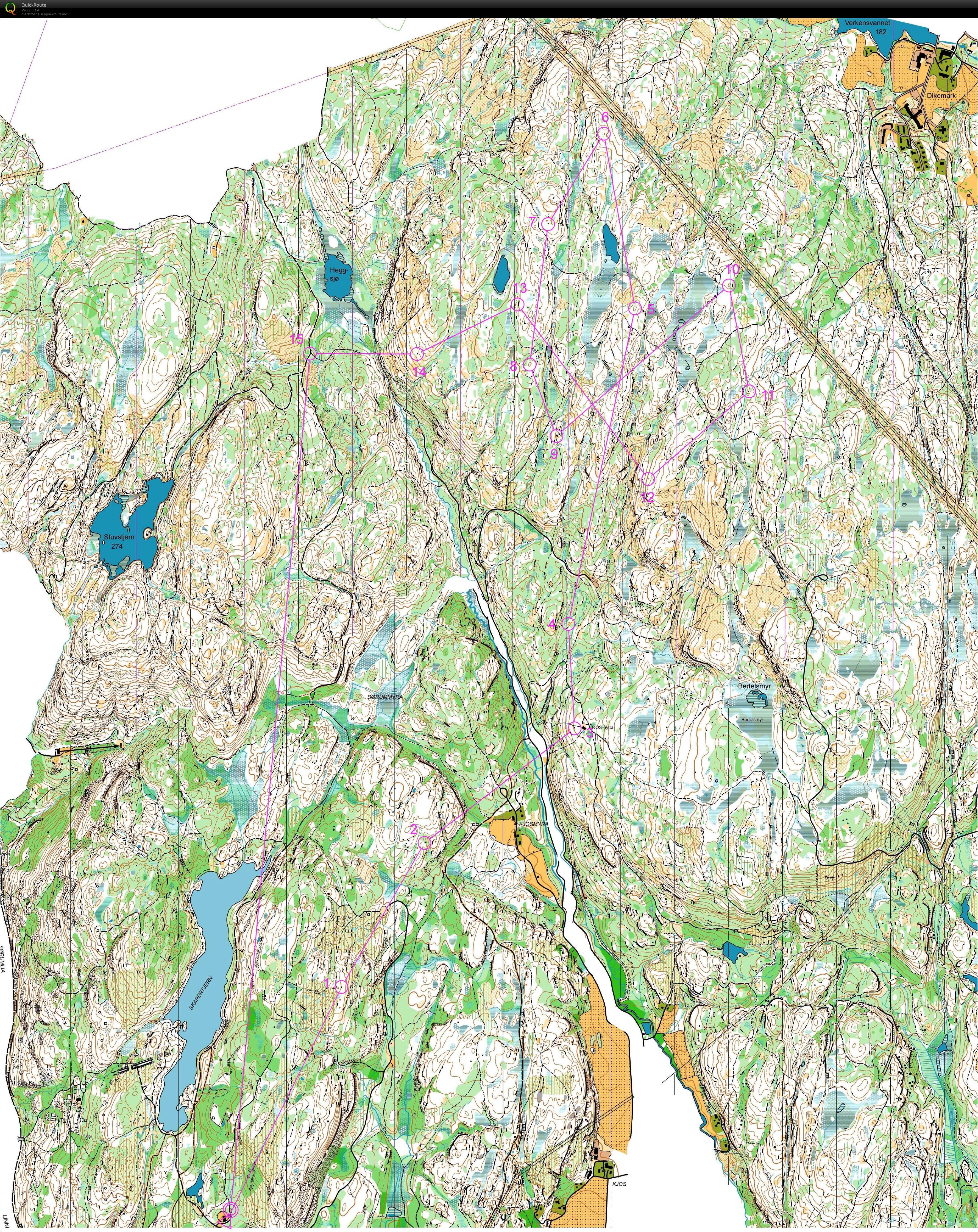 kart kjekstadmarka Mitt digitale veivalgsarkiv :: Søndagskos i Kjekstadmarka (31.05.2015) kart kjekstadmarka