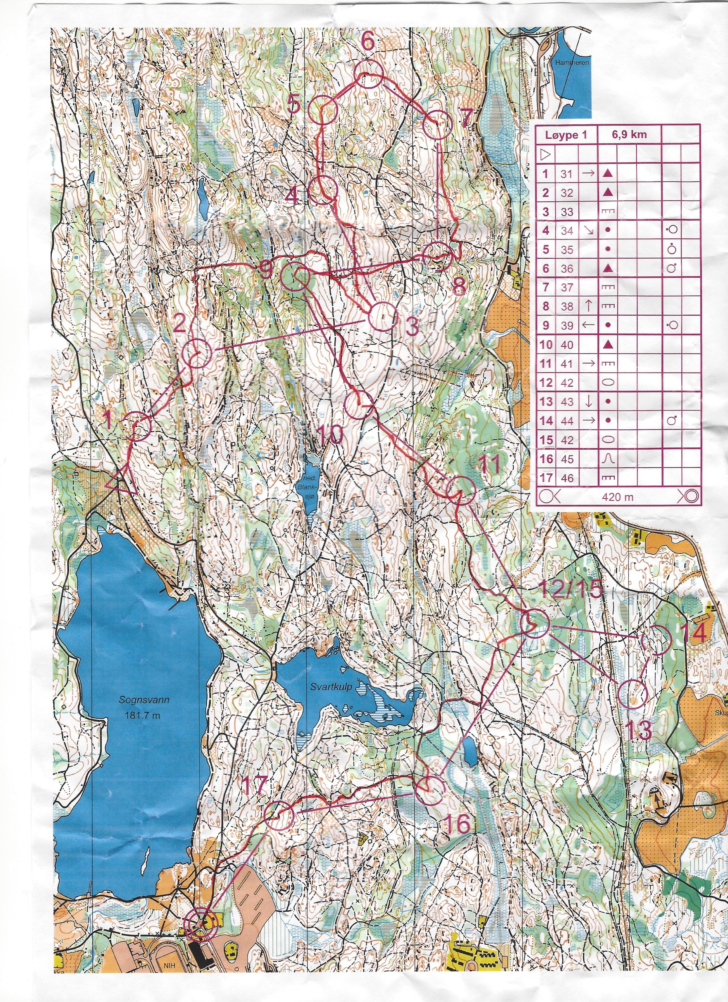 kart sognsvann Kart Sognsvann | Kart